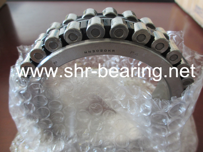 NSK spindle roller bearing double row nylon cage NN3020TBKRCC0P4