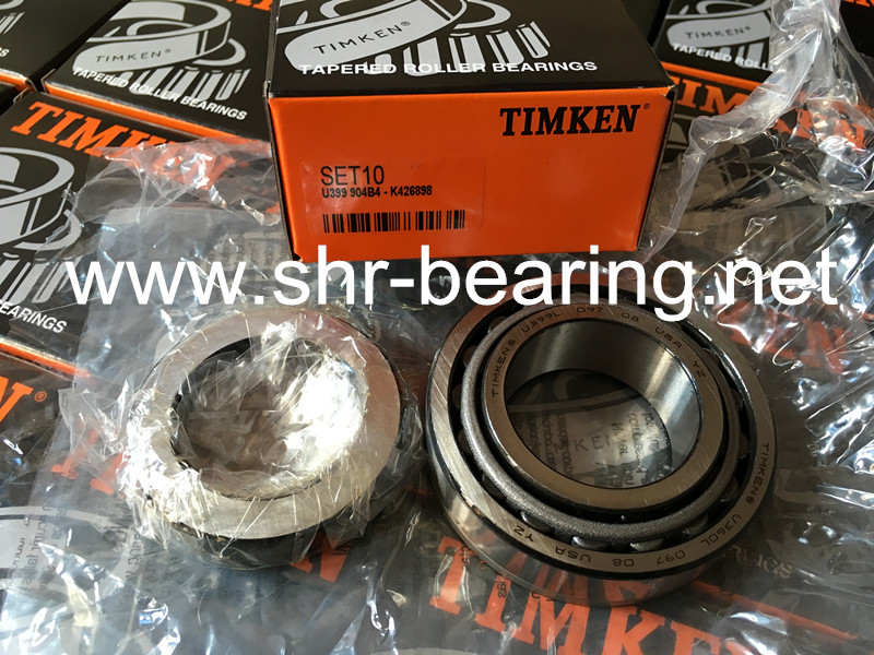 TIMKEN tapered roller bearings U399/360L SET10 with ring